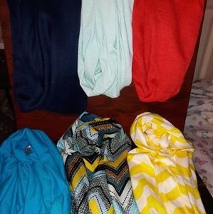 Accessories - 12 Infiniti scarves,  various colors